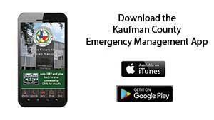 Kaufman County Office of Emergency Management App