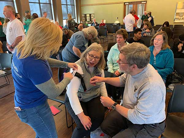 CERT Trains Active Shooter Response, Learns Stop The Bleed