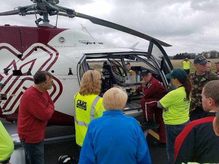 Medi-vac Landing Zone Training Eases Burden on First Responders