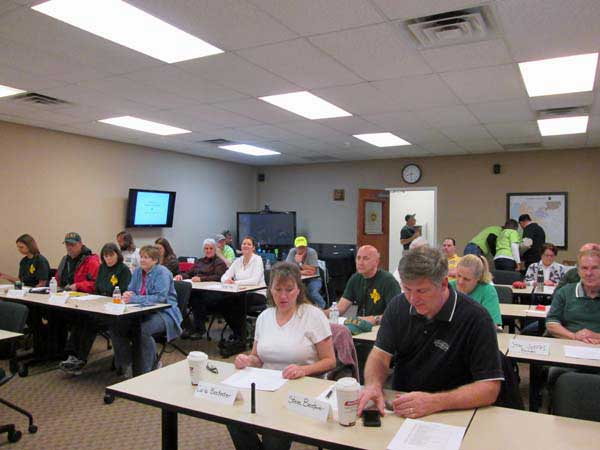 CERT Initial Training Class – February 9th and 16th