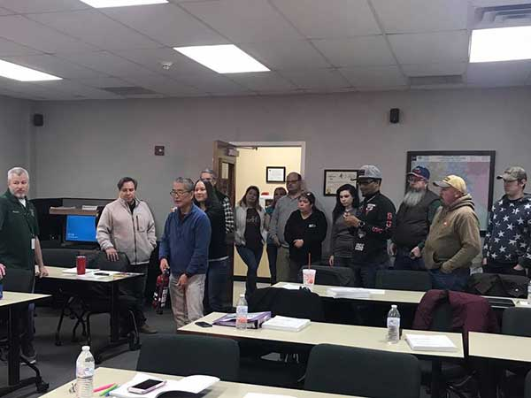 EastTex CERT holds its first training class of the year