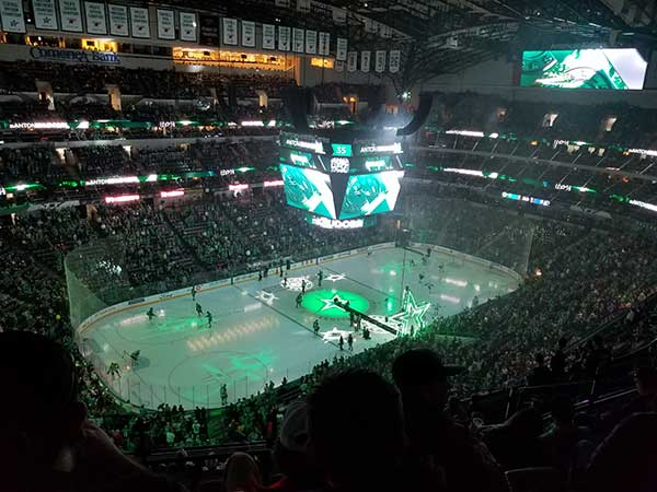 Dallas Stars Honor 1st Responders